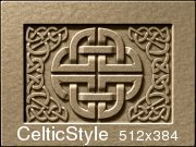 Celtic style, ornament