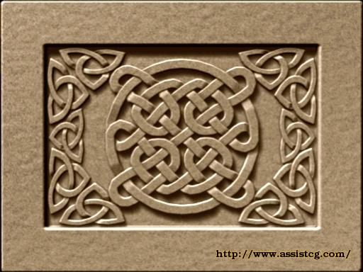 Celtic style, ornament