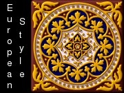 European style, ornament