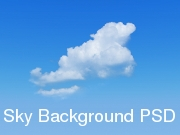 Sky Background PSD